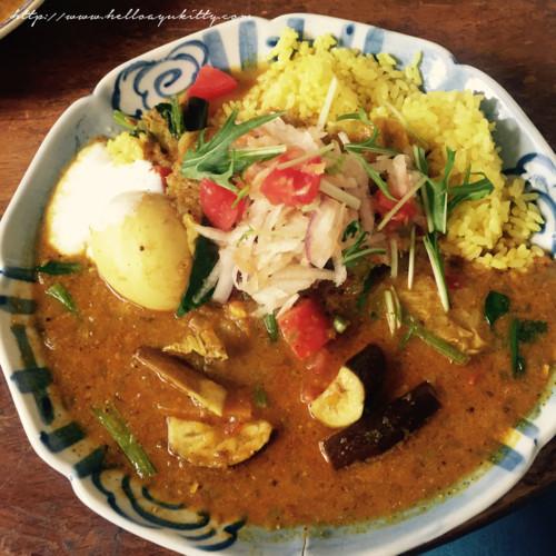 ガネーシュmの野菜カレー