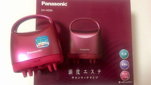 Panasonic 頭皮エステ EH-HE9A